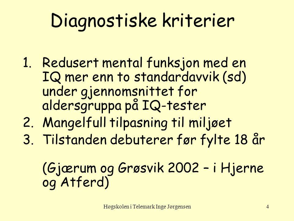 Diagnostiske kriterier