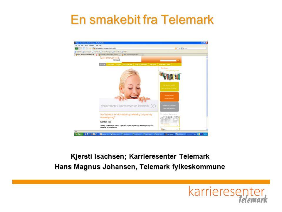 En smakebit fra Telemark