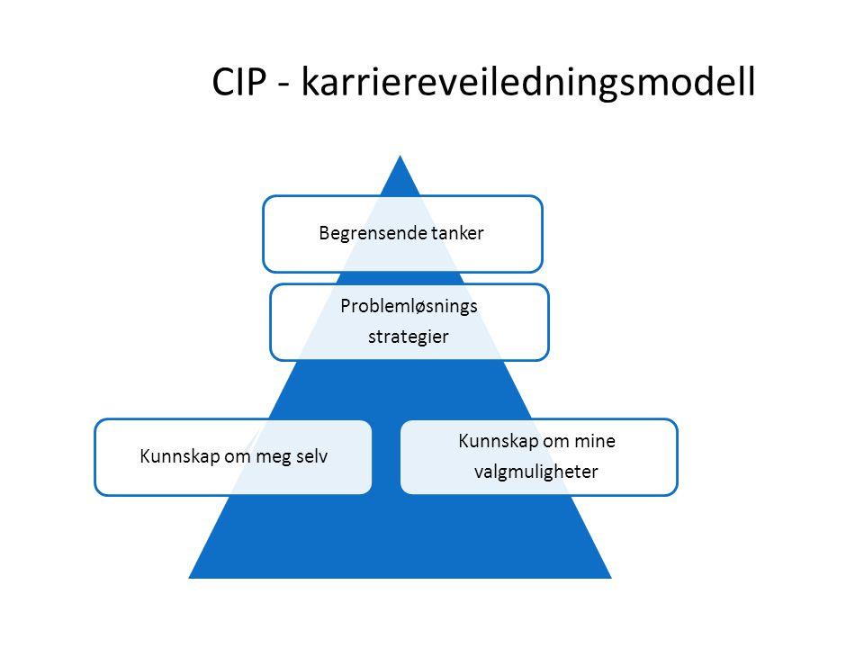 CIP - karriereveiledningsmodell
