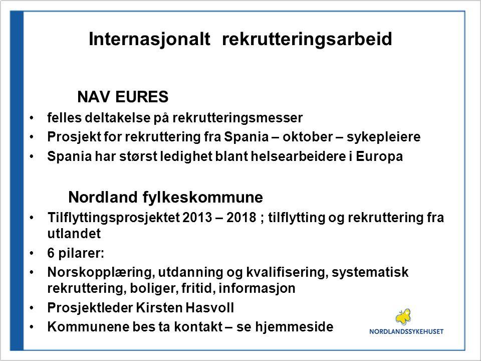 Internasjonalt rekrutteringsarbeid