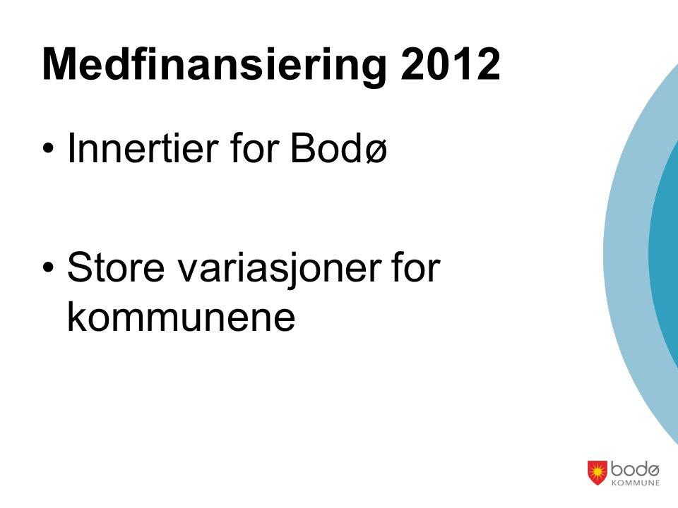Medfinansiering 2012 Innertier for Bodø