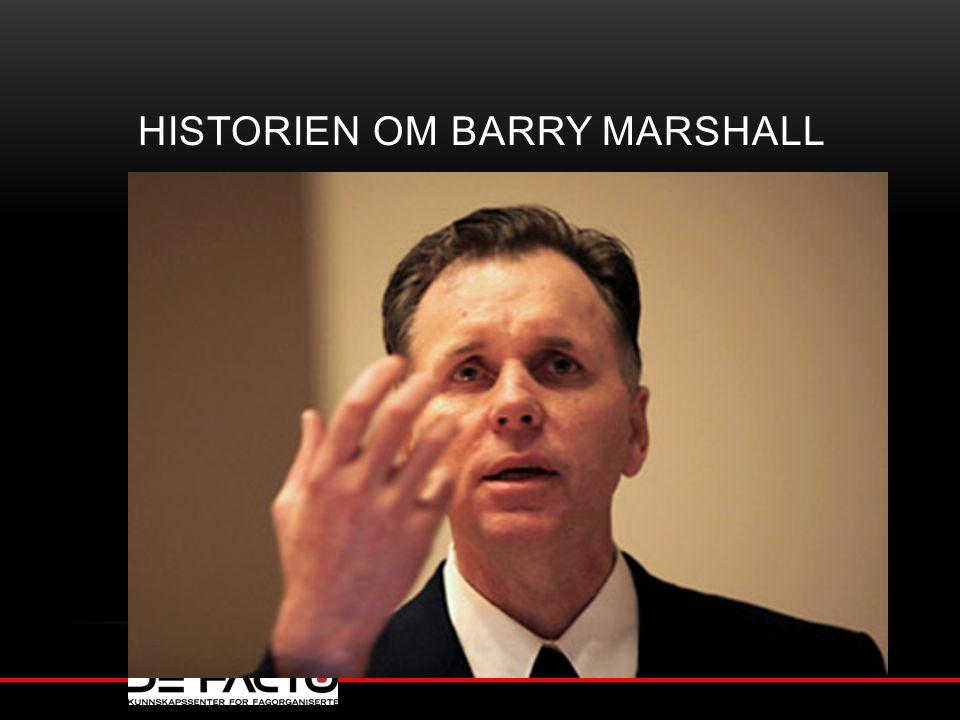 Historien om Barry Marshall