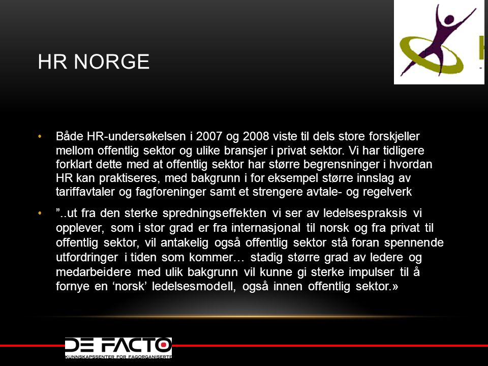 HR Norge