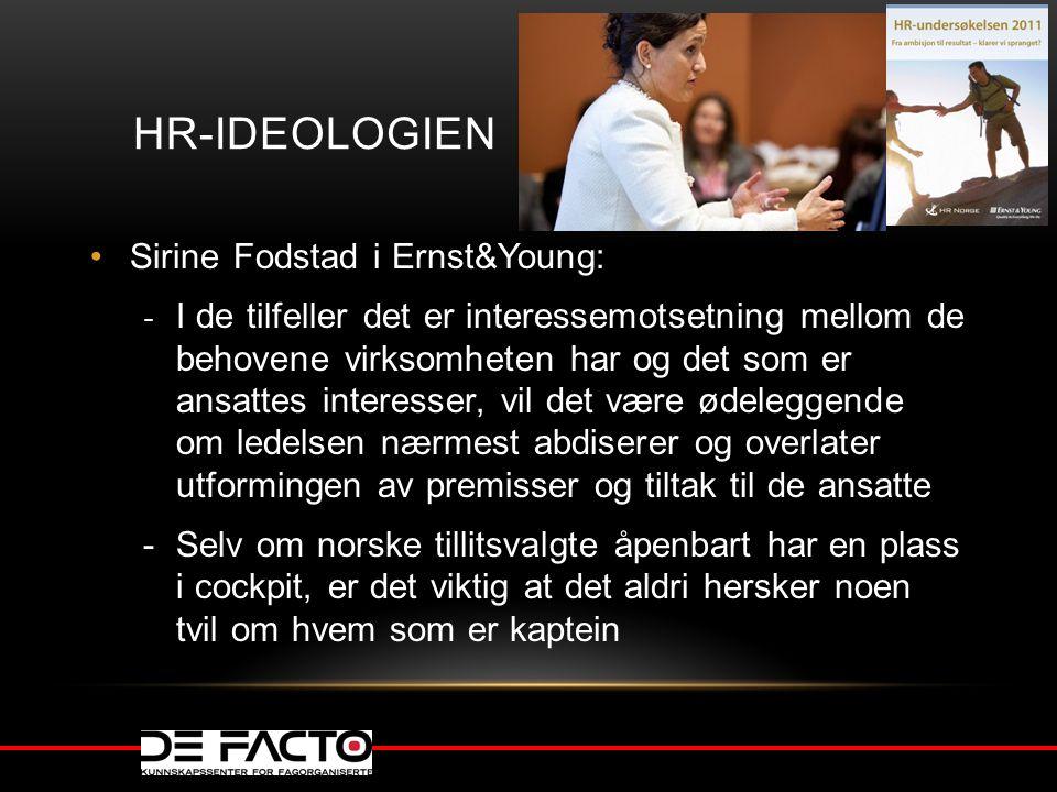 HR-ideologien Sirine Fodstad i Ernst&Young: