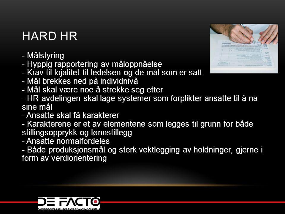 HARD HR