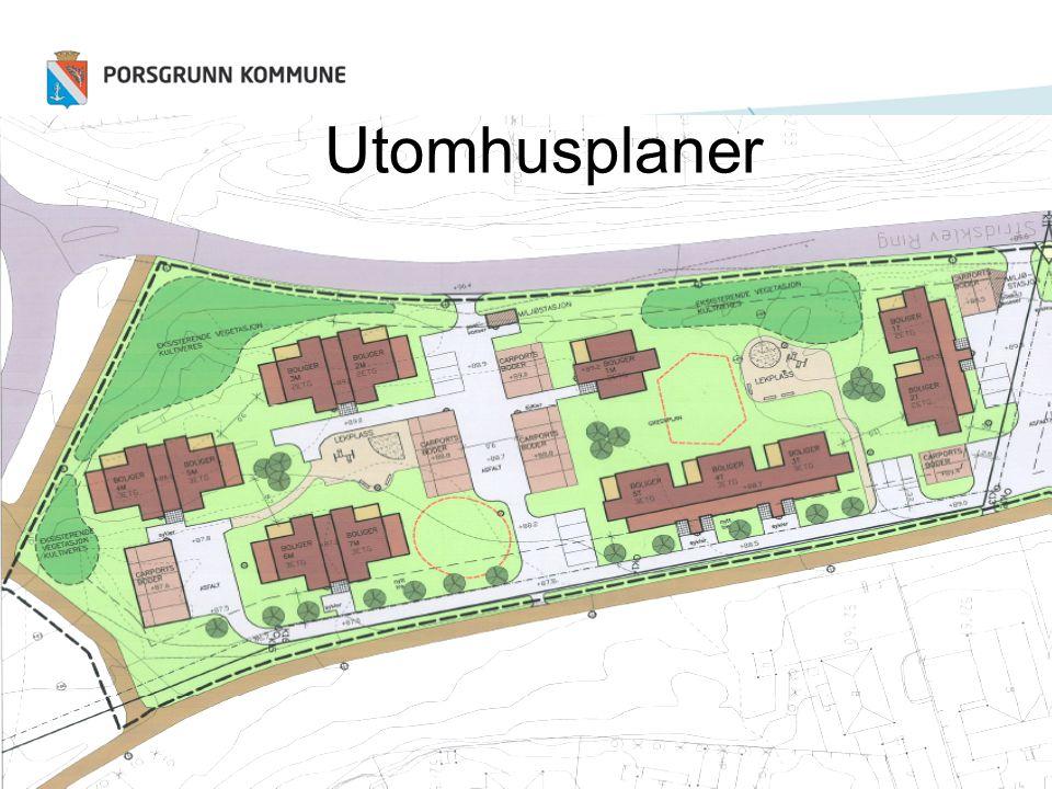 Utomhusplaner Viktig planverktøy for å kvalitetssikre universell utforming.