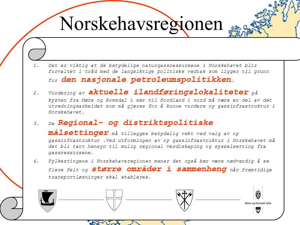 Norskehavsregionen INGEN AV DISSE