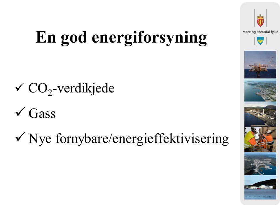 En god energiforsyning