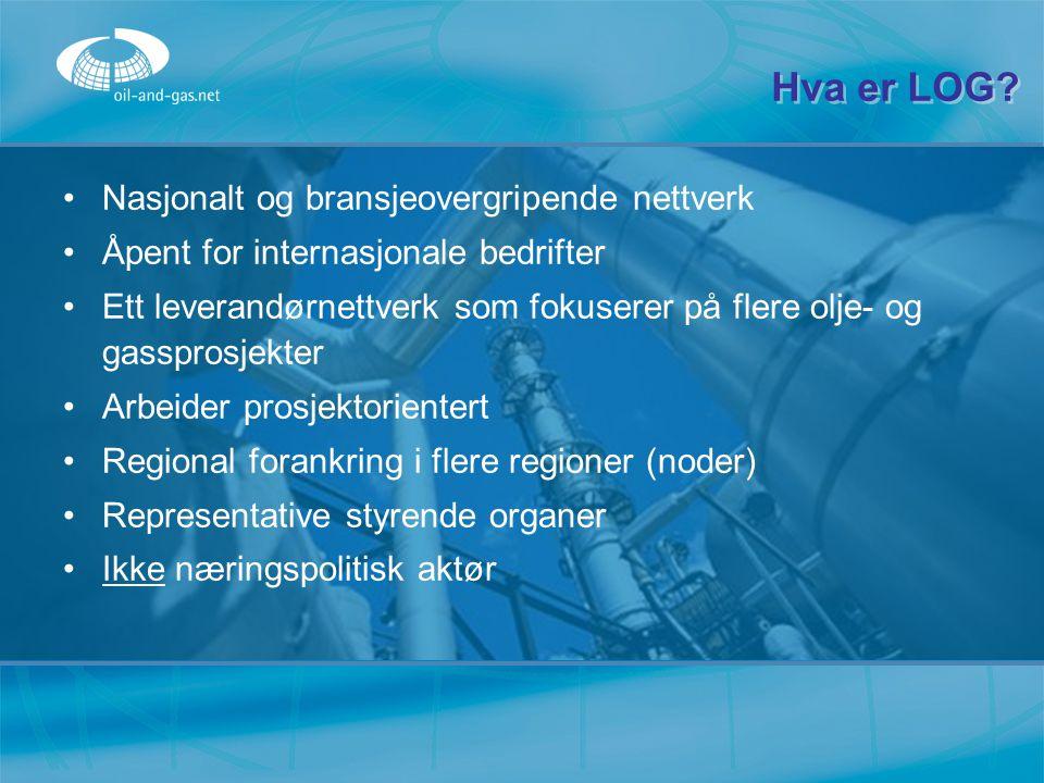 Hva er LOG Nasjonalt og bransjeovergripende nettverk