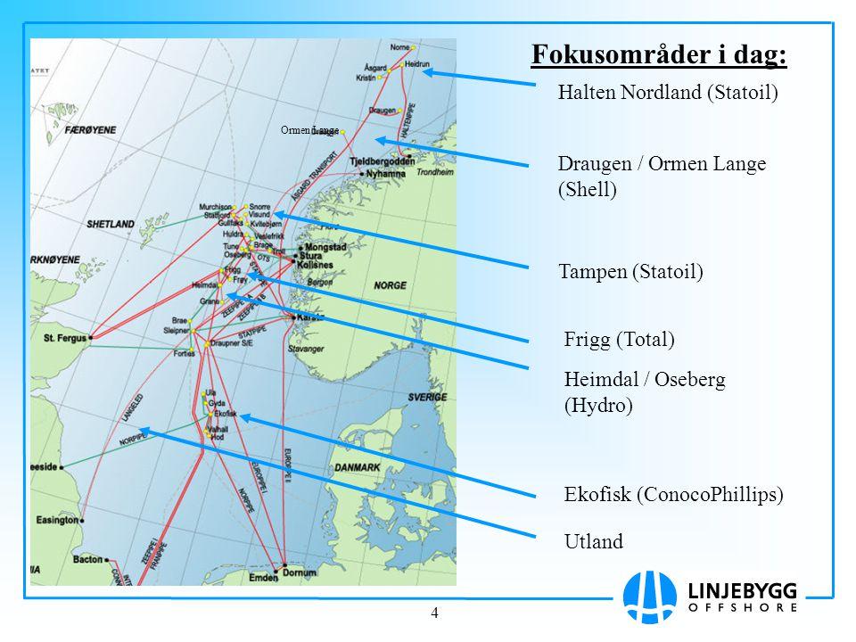 Fokusområder i dag: Halten Nordland (Statoil)