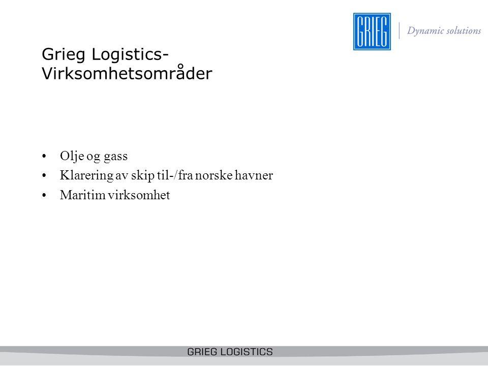 Grieg Logistics- Virksomhetsområder