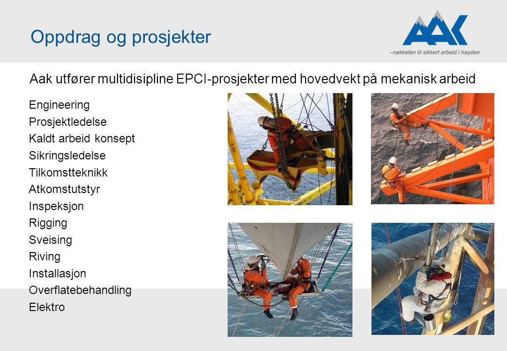 Oppdrag og prosjekter Aak utfører multidisipline EPCI-prosjekter med hovedvekt på mekanisk arbeid. Engineering.