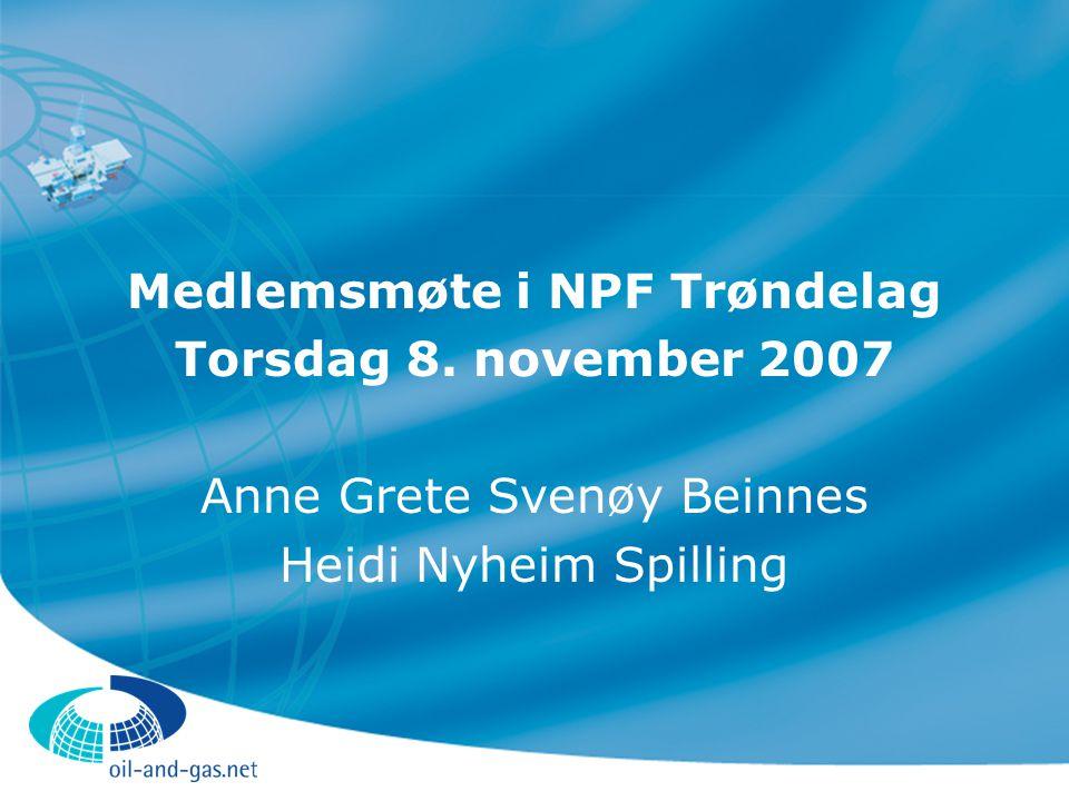 Medlemsmøte i NPF Trøndelag