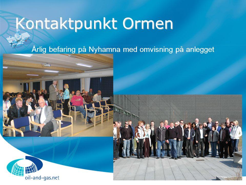 Årlig befaring på Nyhamna med omvisning på anlegget