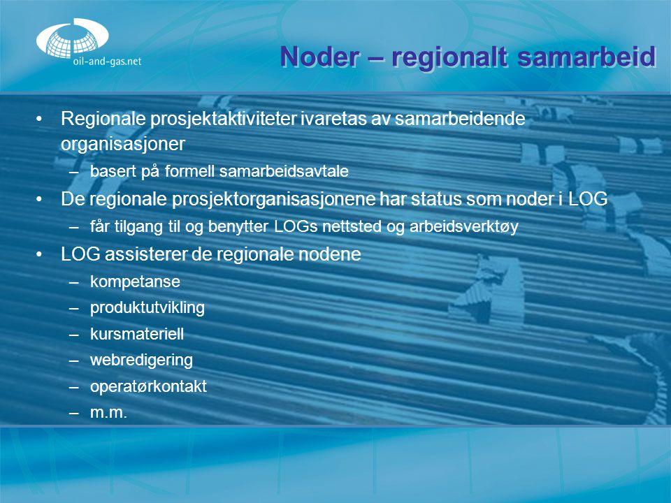 Noder – regionalt samarbeid