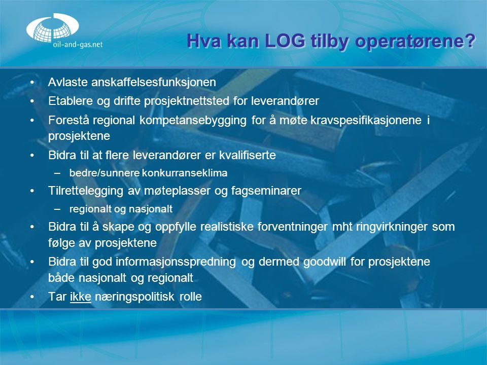Hva kan LOG tilby operatørene