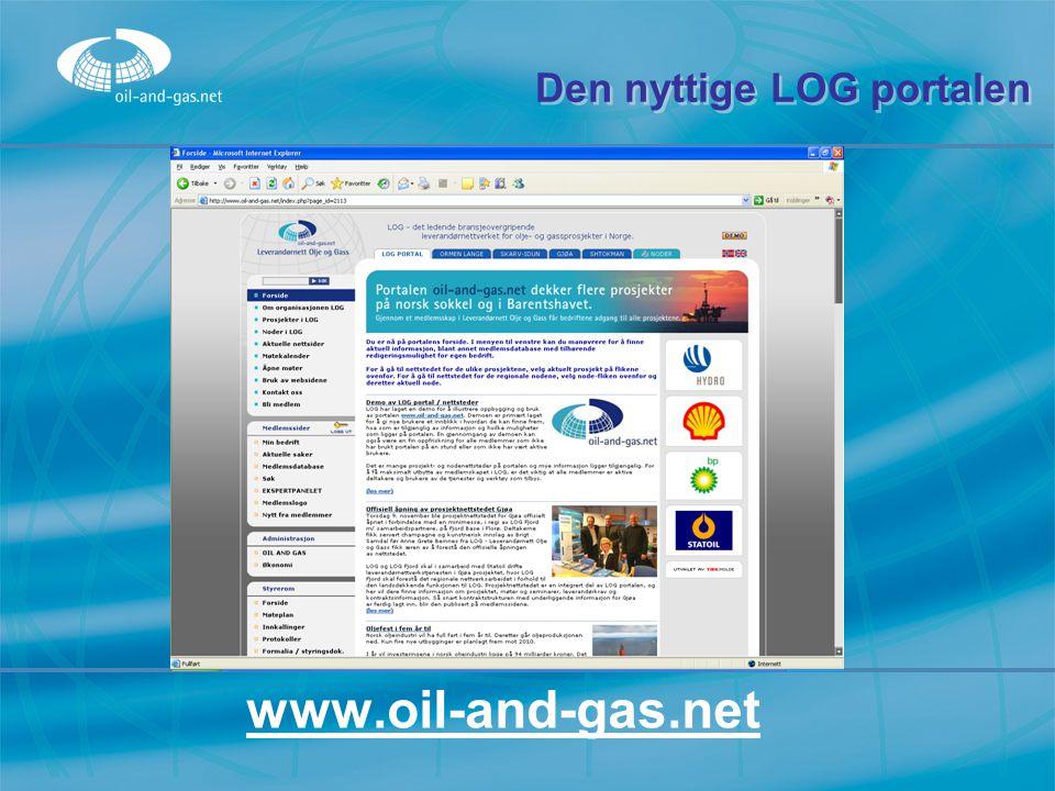 Den nyttige LOG portalen