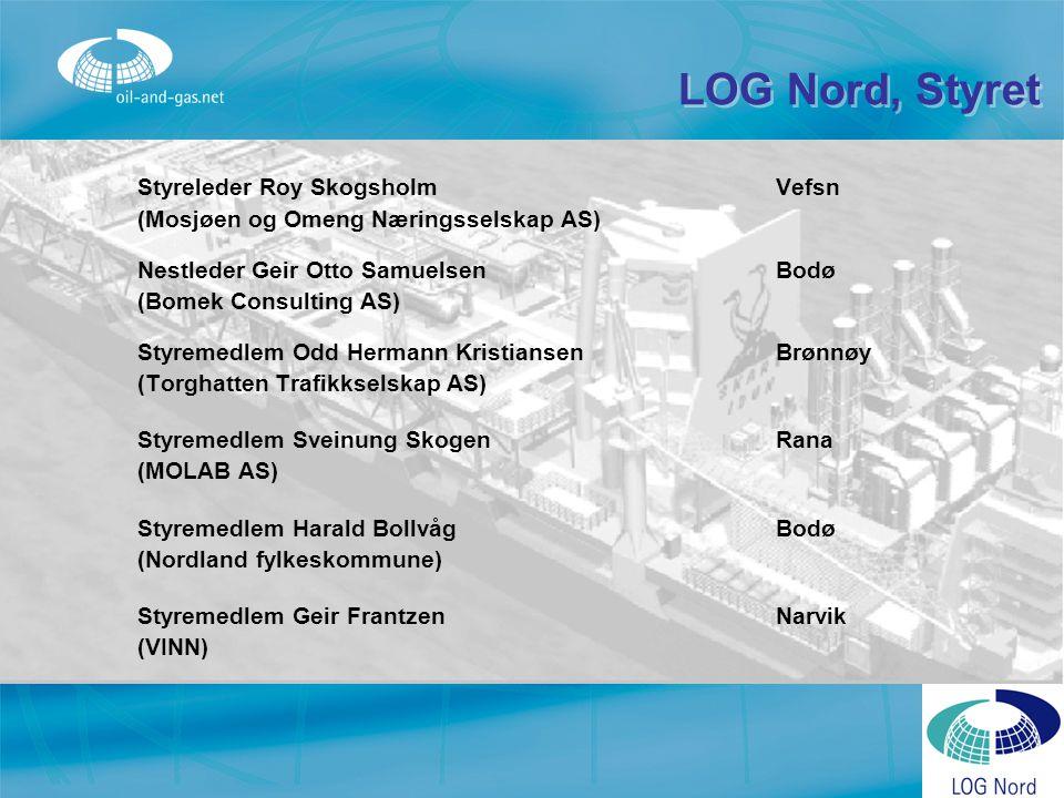 LOG Nord, Styret Styreleder Roy Skogsholm Vefsn