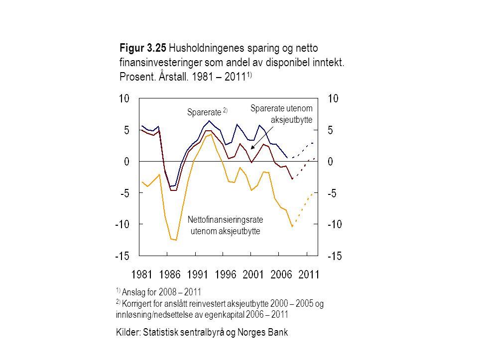 Nettofinansieringsrate utenom aksjeutbytte