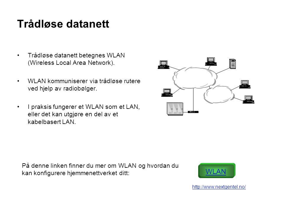 Trådløse datanett WLAN