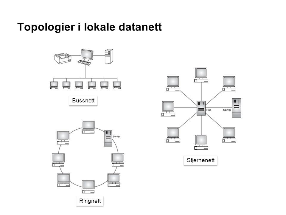 Topologier i lokale datanett