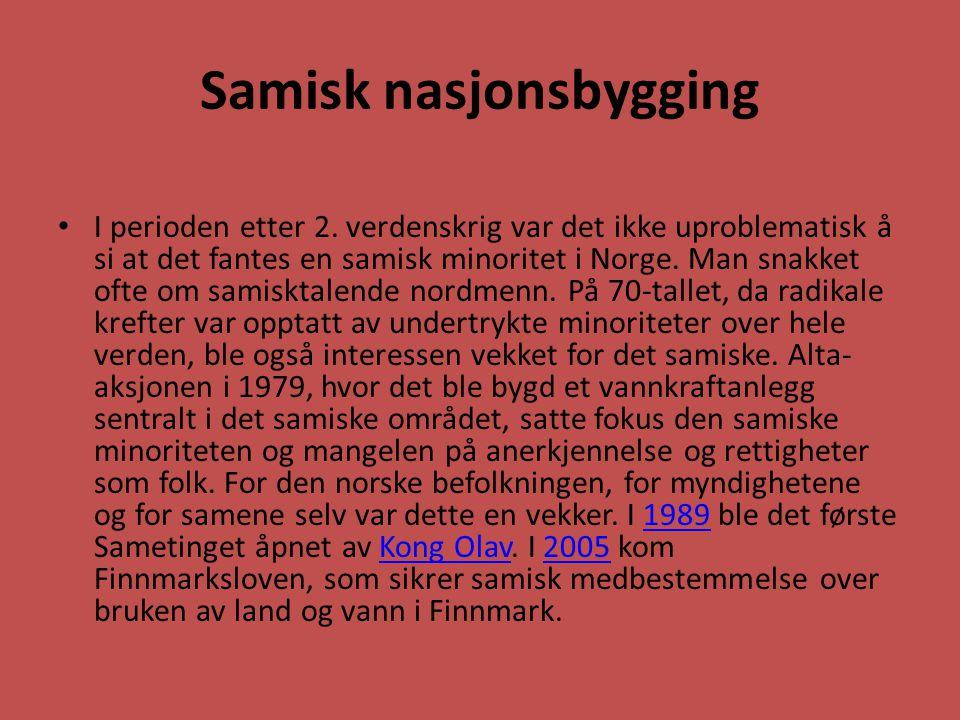 Samisk nasjonsbygging