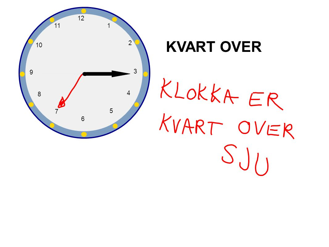 1 2 3 4 5 6 7 8 9 10 12 11 KVART OVER