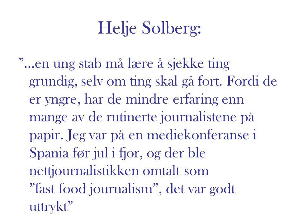 Helje Solberg: