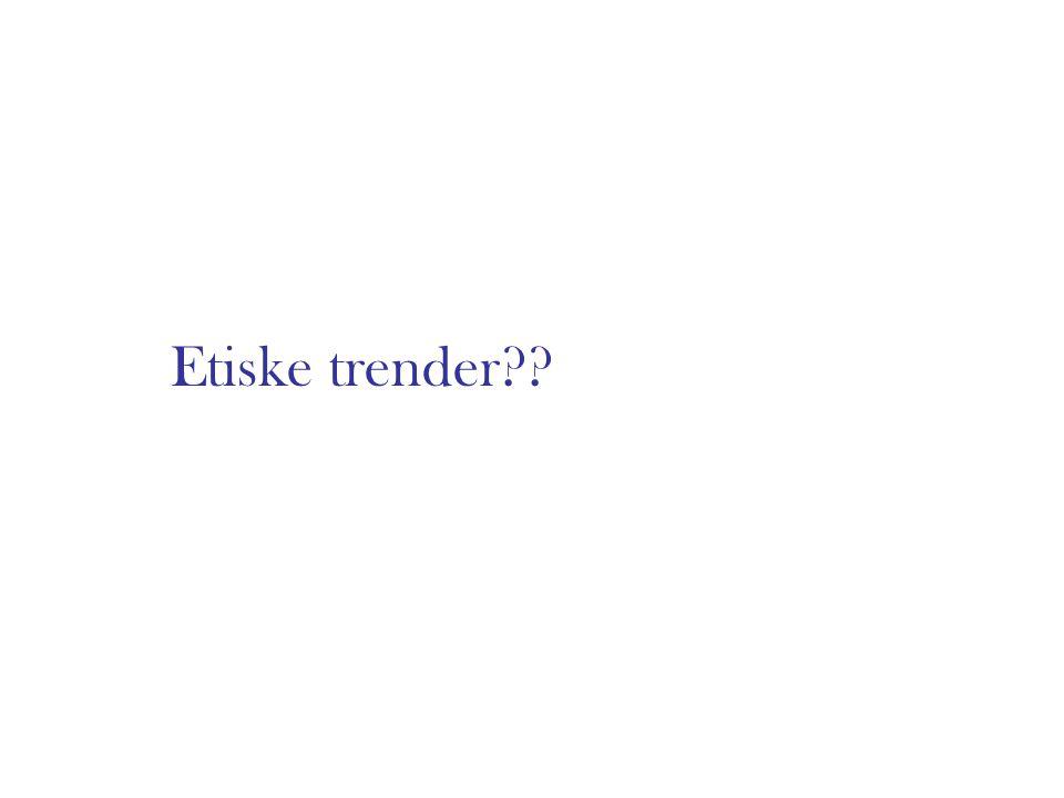Etiske trender