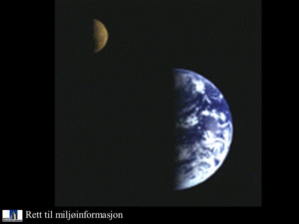 Måne Rett til miljøinformasjon