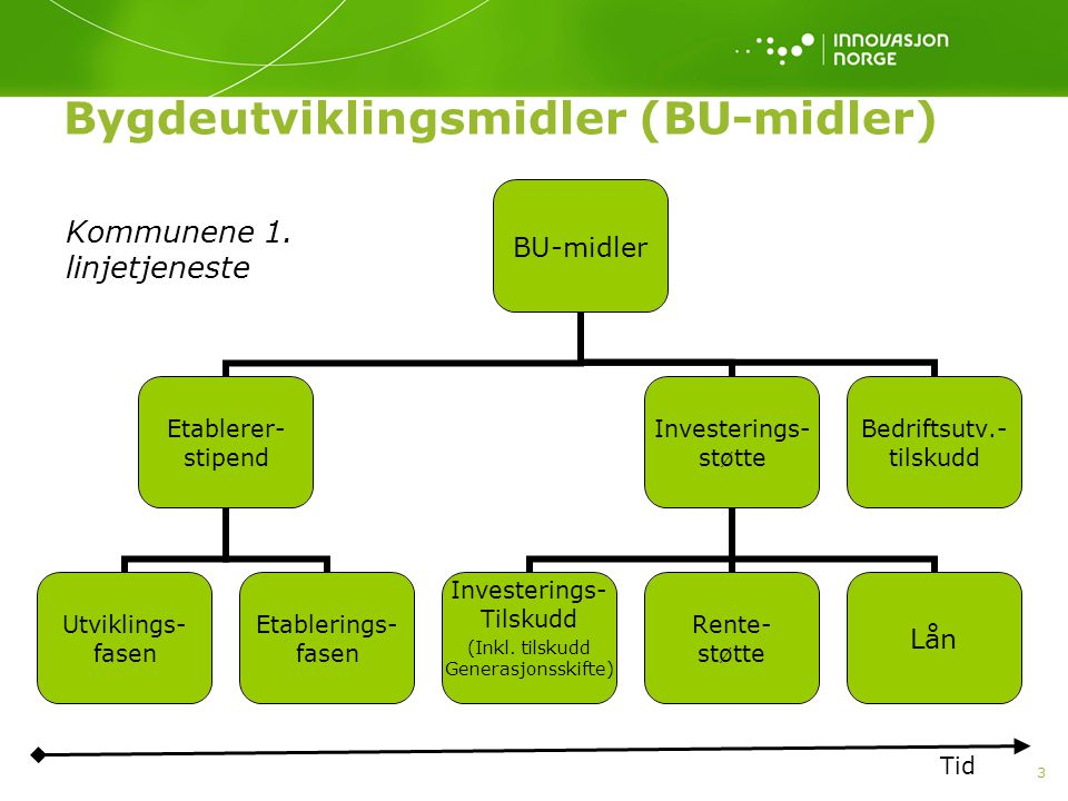 Bygdeutviklingsmidler (BU-midler)