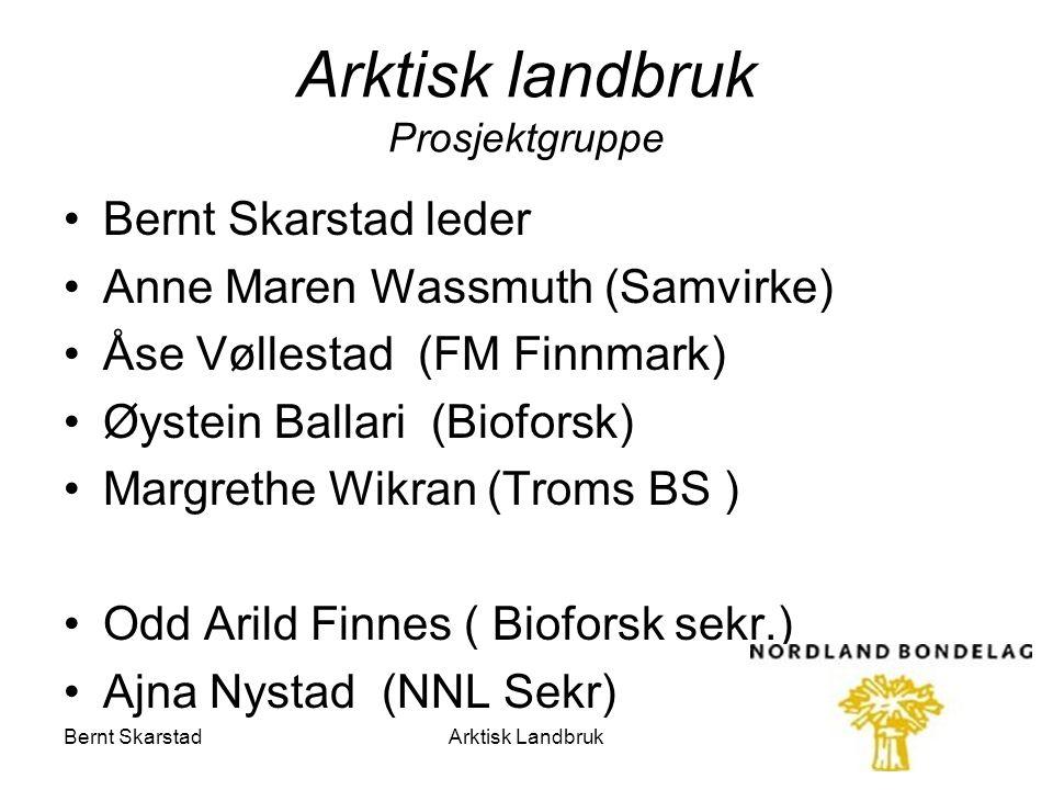 Arktisk landbruk Prosjektgruppe