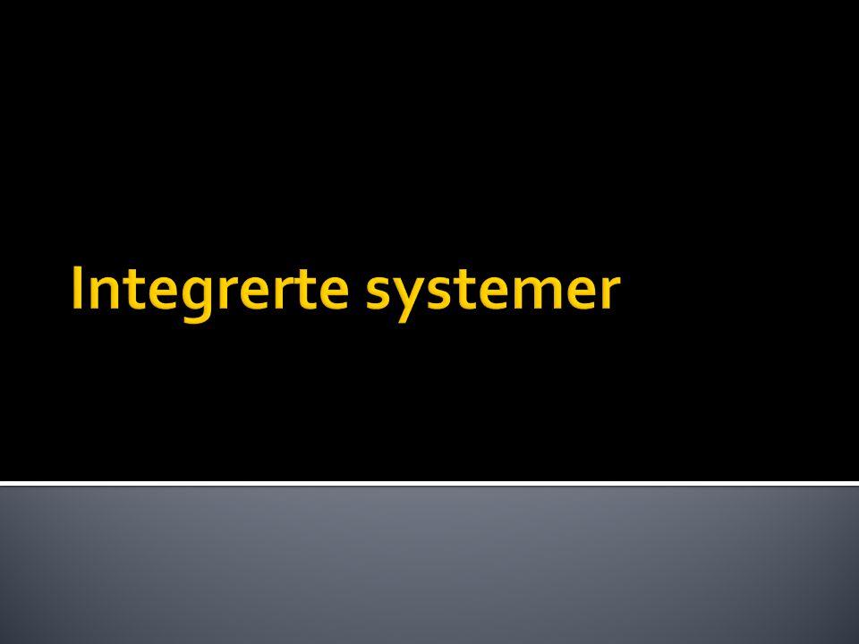 Integrerte systemer