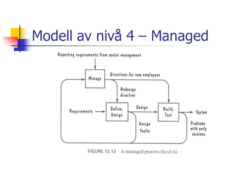Modell av nivå 4 – Managed