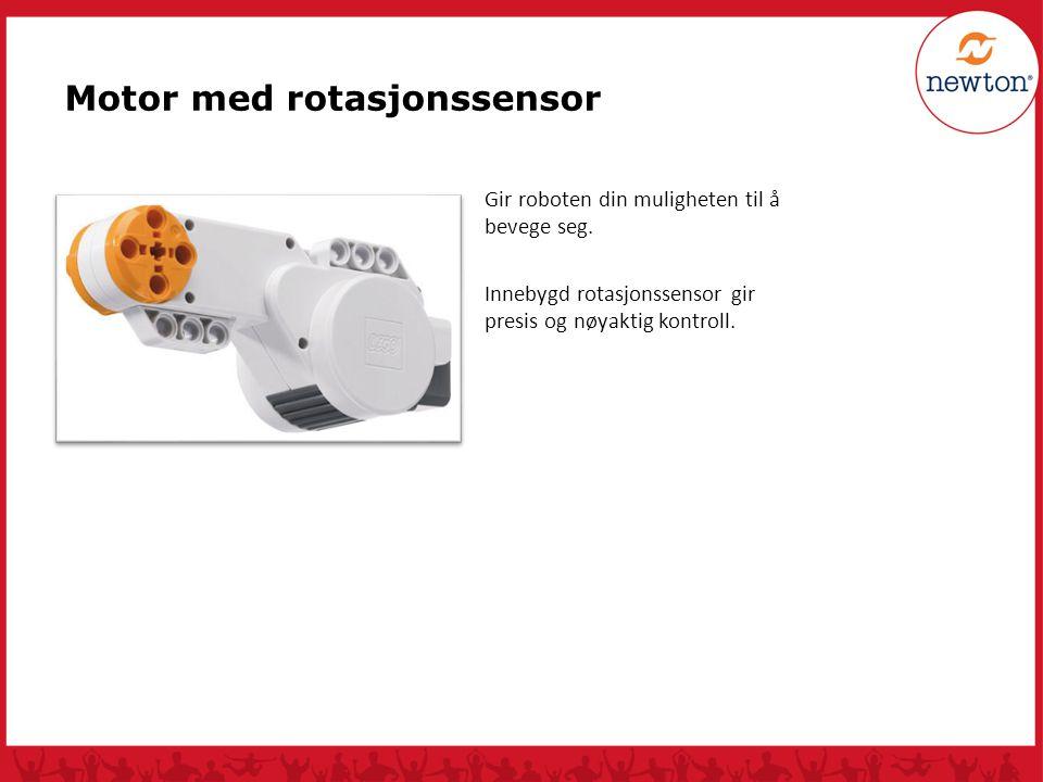 Motor med rotasjonssensor