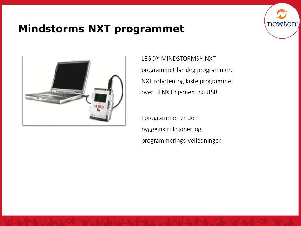 Mindstorms NXT programmet