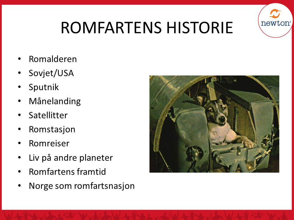 ROMFARTENS HISTORIE Romalderen Sovjet/USA Sputnik Månelanding