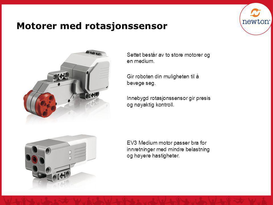 Motorer med rotasjonssensor
