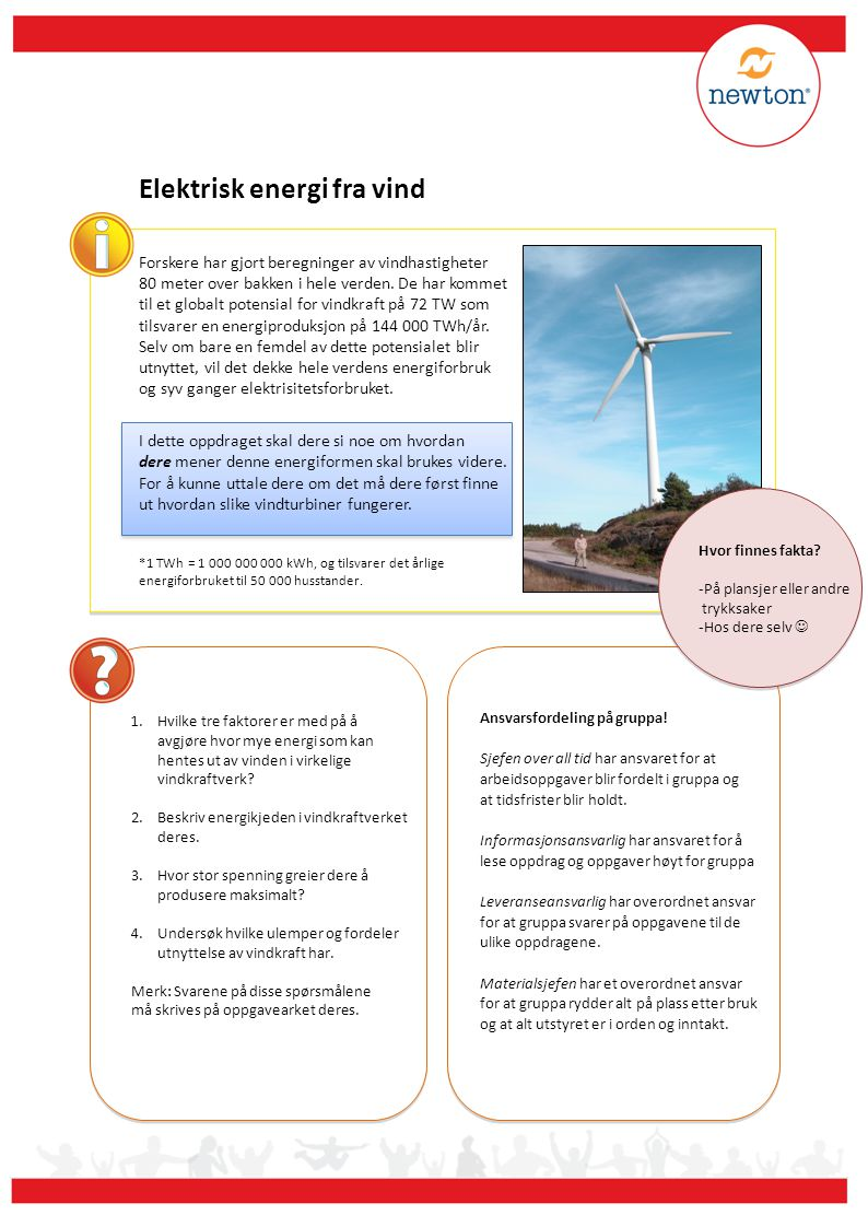 Elektrisk energi fra vind
