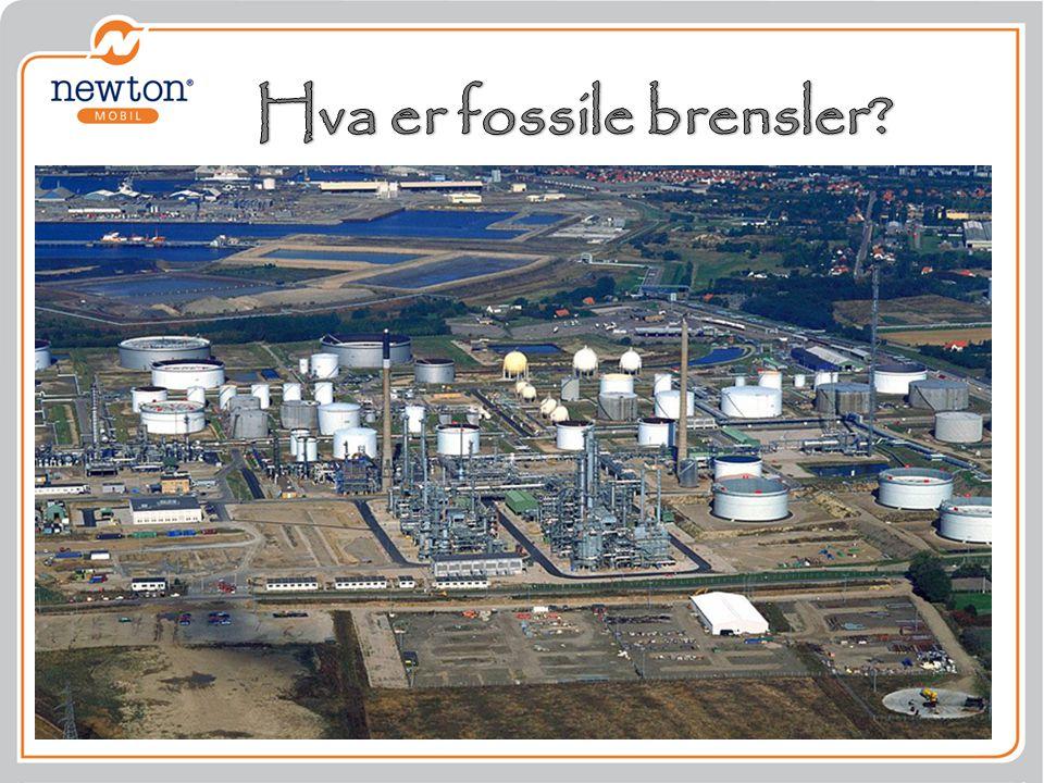 Hva er fossile brensler