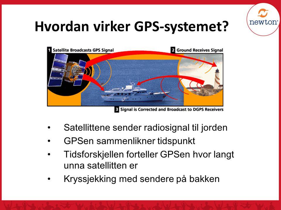 Hvordan virker GPS-systemet