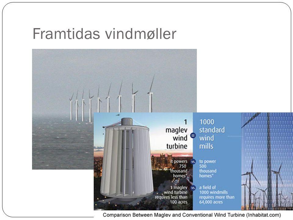 Framtidas vindmøller
