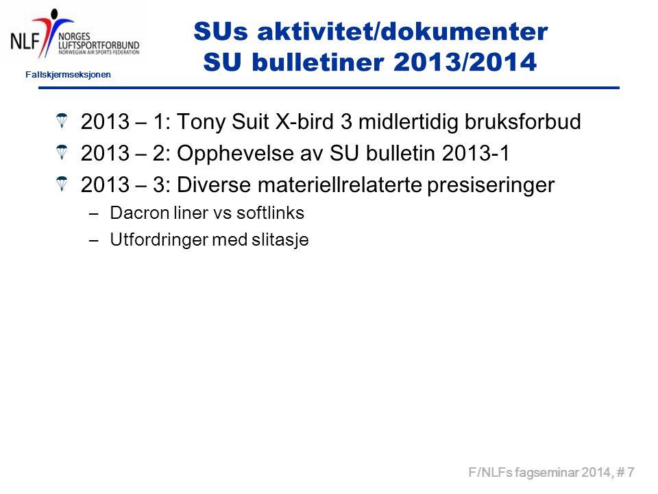 SUs aktivitet/dokumenter SU bulletiner 2013/2014