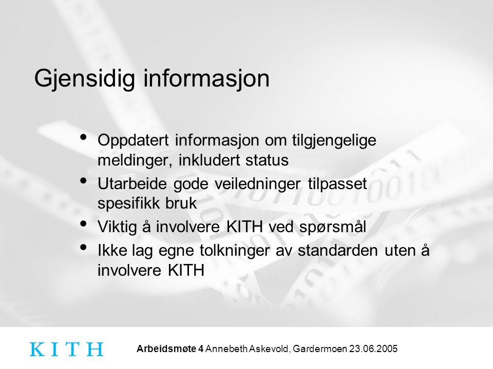 Gjensidig informasjon