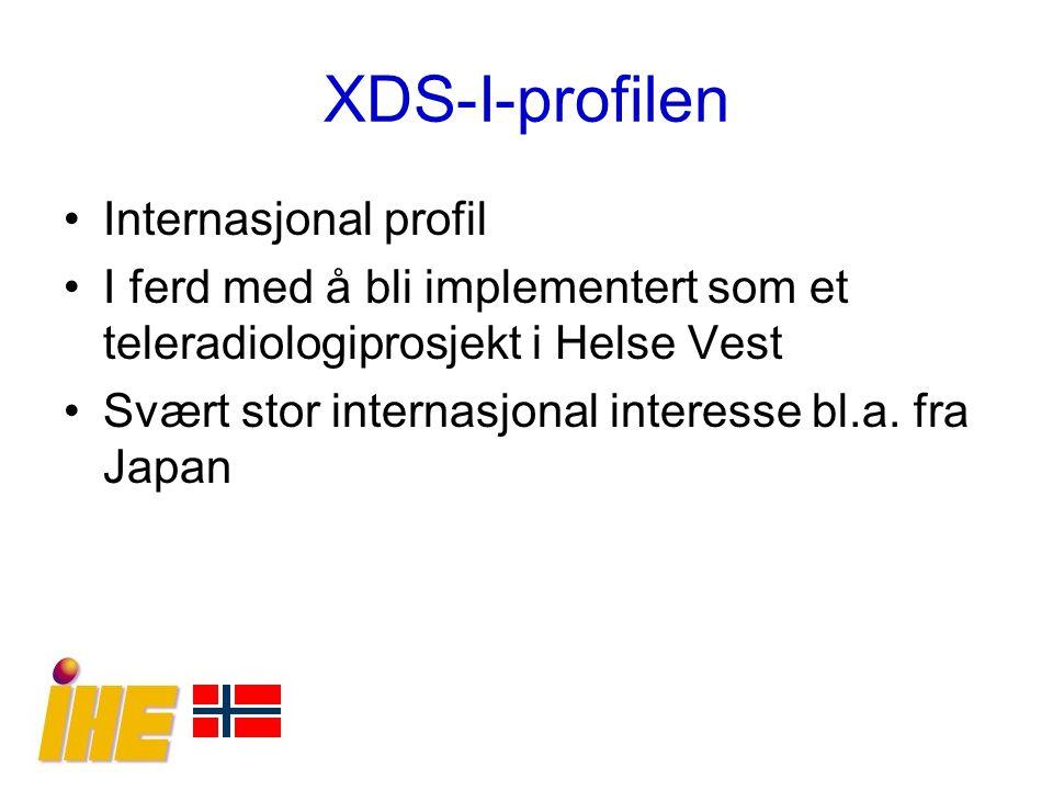 XDS-I-profilen Internasjonal profil