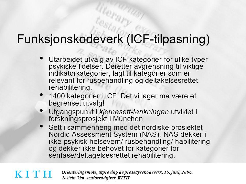 Funksjonskodeverk (ICF-tilpasning)