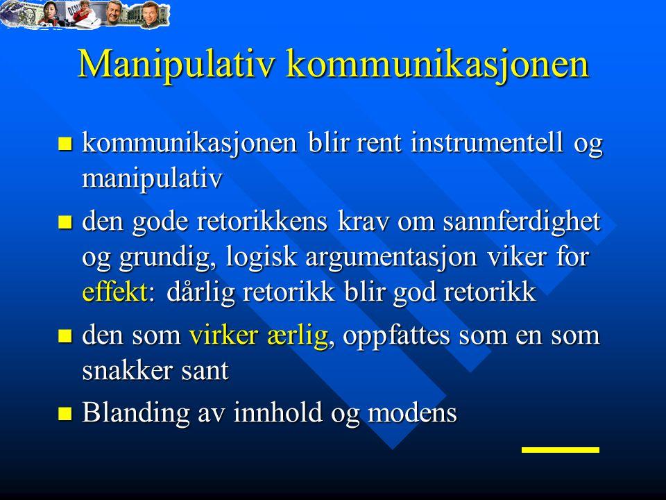 Manipulativ kommunikasjonen