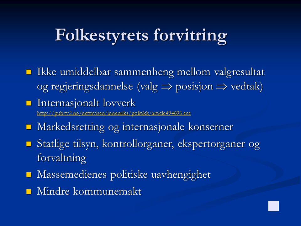 Folkestyrets forvitring