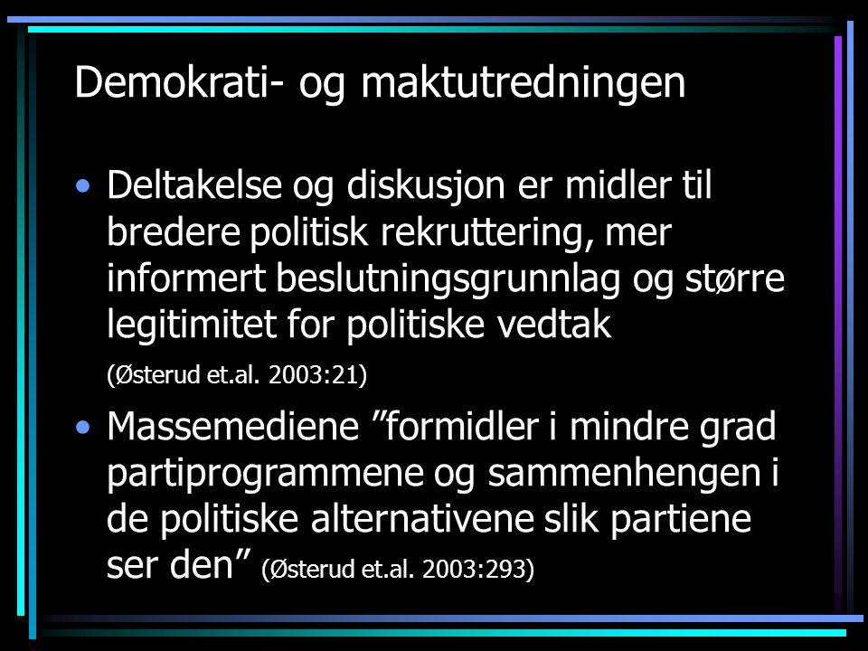 Demokrati- og maktutredningen