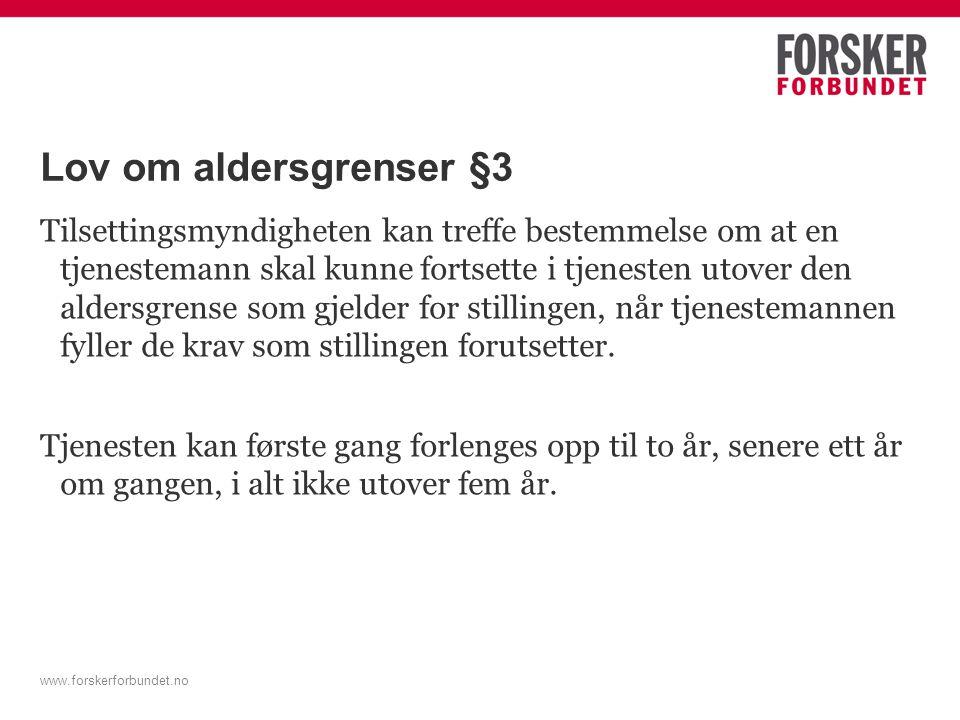 Lov om aldersgrenser §3